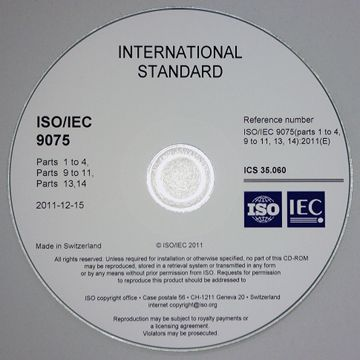 Picture of ISO/IEC 9075 CD